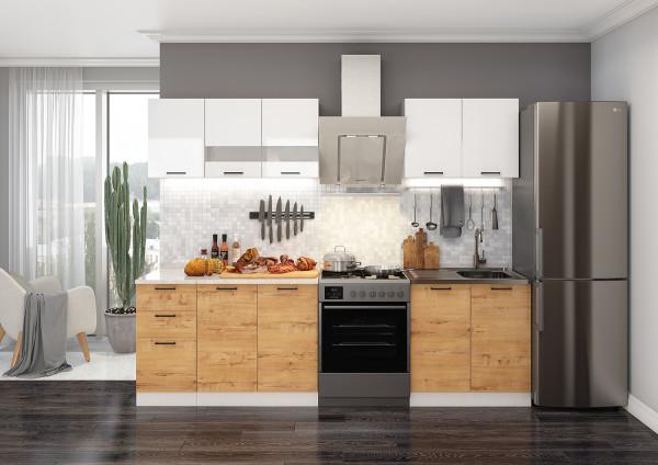 Готовый кухонный гарнитур Дуся 2 м