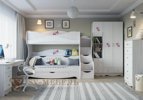 Модульная детская спальня Акварель 1