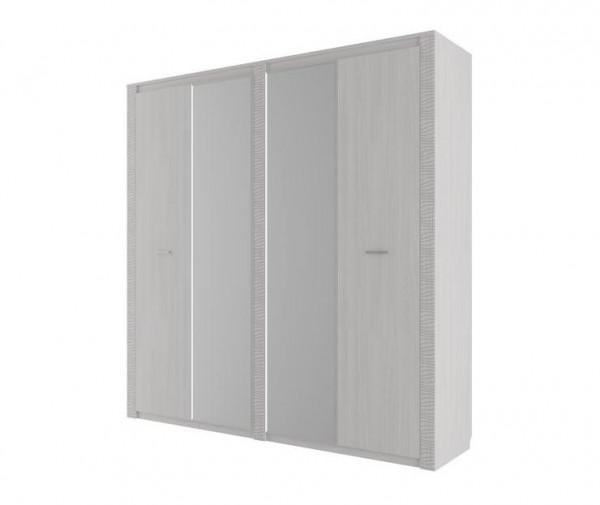 Шкаф для платья и белья четырехстворчатый Гамма 20