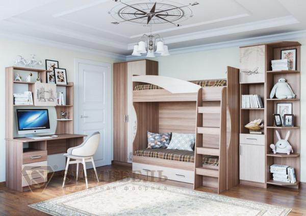 Модульная подростковая спальня Город