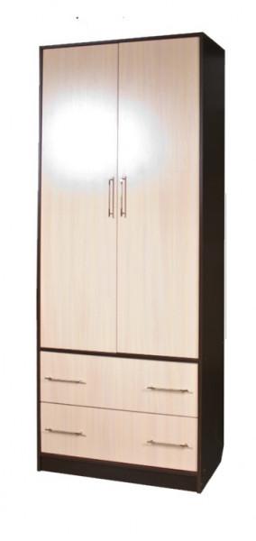 Шкаф двухстворчатый с ящиками секция 15 Диана-4