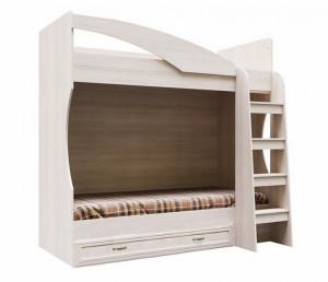 Кровать двухярусная с ящиком ДМ-16 Вега