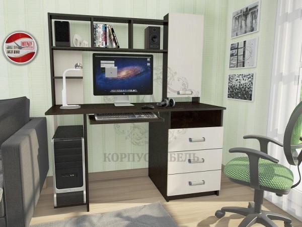 Компьютерный стол КС-002 фотопечать