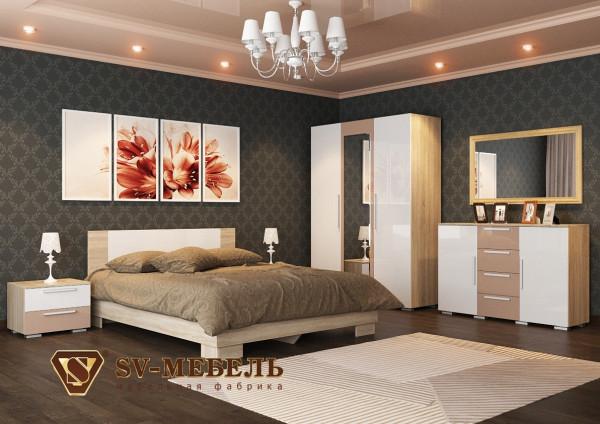 Модульная спальня Лагуна 2