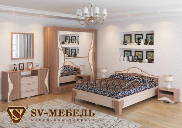 Модульная спальня Лагуна 5