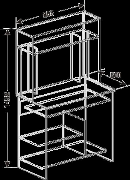Стол компьютерный СК 06
