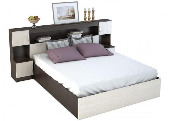 Кровать с закроватным модулем КР-552 Бася
