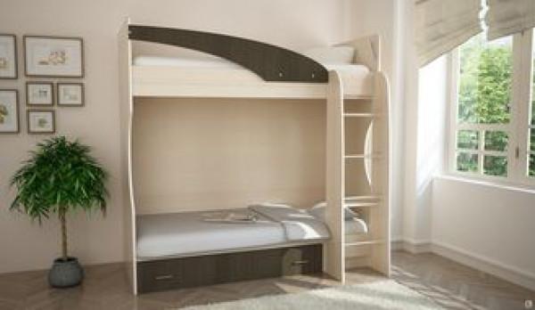 Кровать 2-ярусная Бемби-4