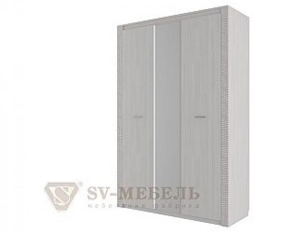 Шкаф комбинированный трехстворчатый Гамма 20