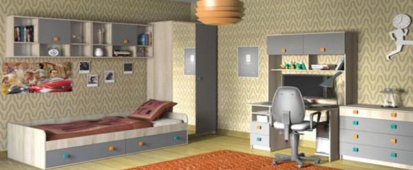 Модульная подростковая спальня Доминика