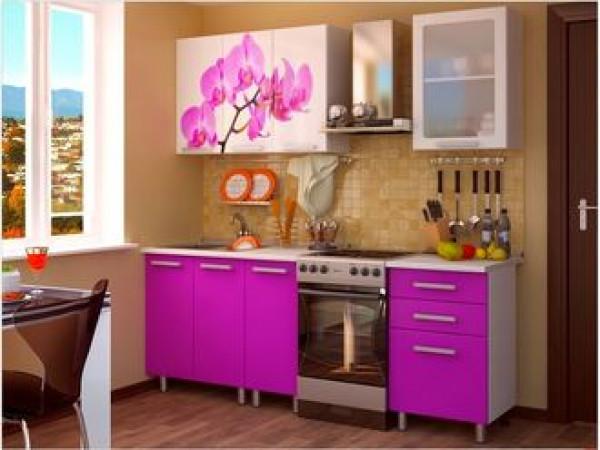 Кухня 1,6 м Орхидея