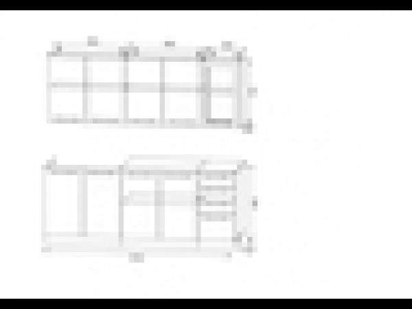 Кухня 2,0 м Люкс-Прима