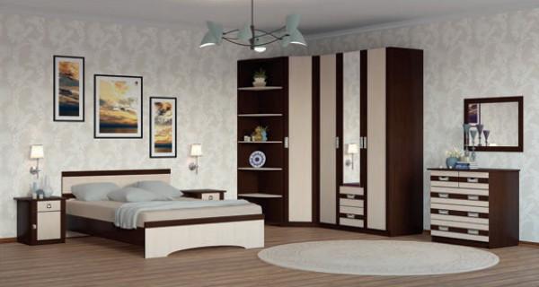 Модульная спальня Сабрина-2