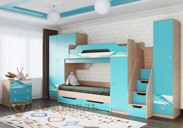 Модульная детская спальня Сити 1