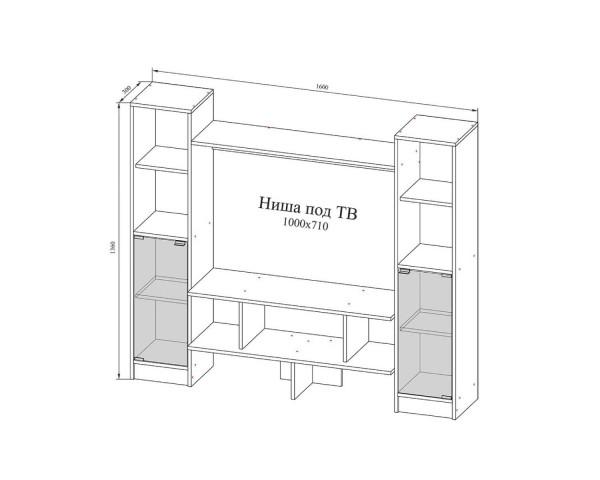 Тумба ТВ №104